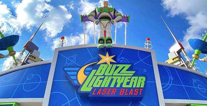 Disneyland Paris: l'ingresso di Buzz Lightyear Laser Blast è stato rinnovato