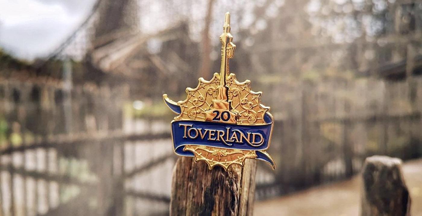 Toverland spendet Abonnenten einen neuen Jubiläums-Pin
