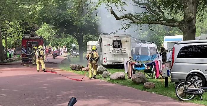 Brand uitgebroken in wigwam Slagharen Looopings.nl