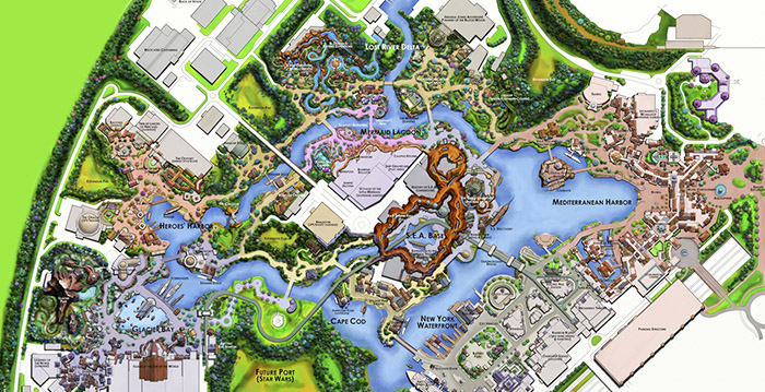Creatieve Disney-fan ontwerpt nieuw themapark voor Disneyland Paris