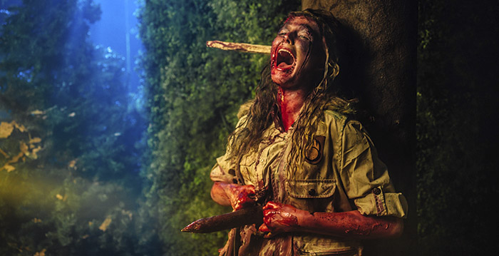 Bobbejaanland Halloween.Indrukwekkende Decors In Nieuw Spookhuis Bobbejaanland