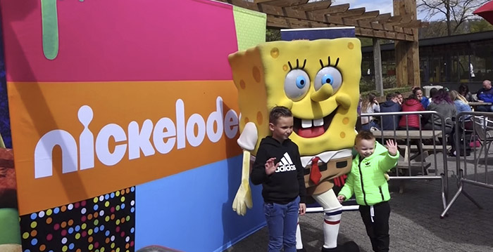 Plopsaland verwelkomt personages van Nickelodeon