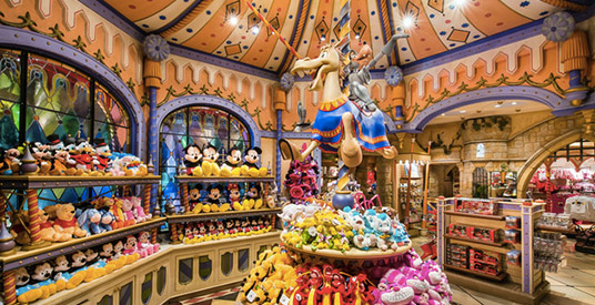 Vol Hotel Disneyland Paris